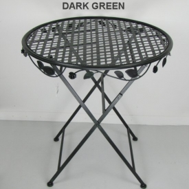 ROSE TABLE DARK GREEN