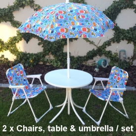 KIDS BISTRO SET BLUE