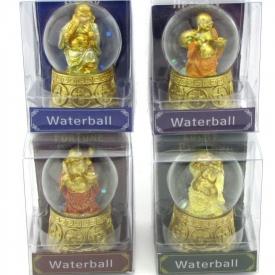 BUDDHA WATERBALL 4 ASSTD