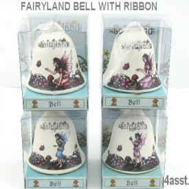 FAIRYLAND PORCELAIN BELL 4 ASSTD