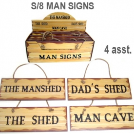MAN SIGN SET 8