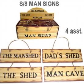 MAN SIGN SET 8
