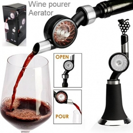 WATER WHEEL WINE AERATOR & STOPPER