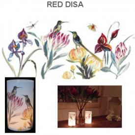 T/LITE COVER RED DISA