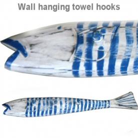 WOODEN FISH 70CM