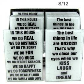 SAYINGS PLAQUE