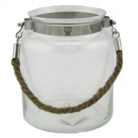 GLASS JAR 21cm