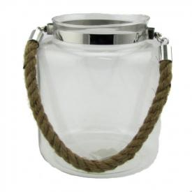 GLASS JAR 17cm