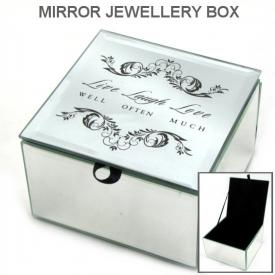 LIVE,LAUGH,LOVE MIRROR BOX