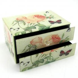 JEWELLERY BOX - ROSE