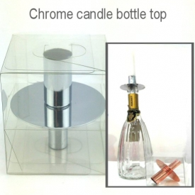 BOTTLE TOP CANDLE HOLDER