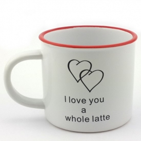 I LOVE YOU A WHOLE LATTE