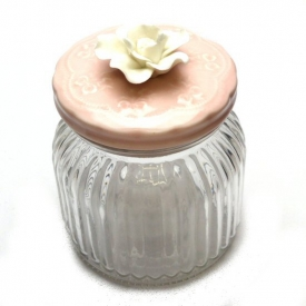 GLASS JAR 14cm
