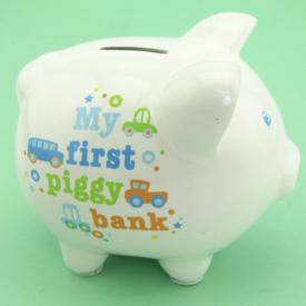 MY FIRST PIGGY BANK - BOY