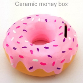 DONUT MONEY BANK 2 ASSTD