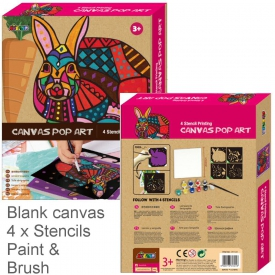 CANVAS ART BUNNY