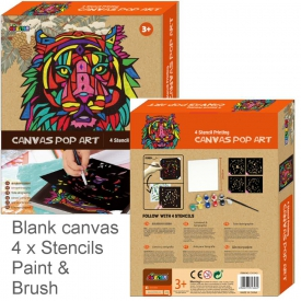 CANVAS ART LION