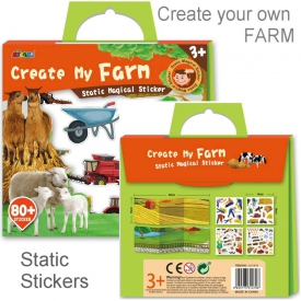 STATIC STICKERS FARM
