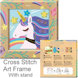 STITCH FRAME UNICORN