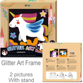 GLIITER ART UNICORN