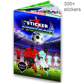 STICKER BOOK FOOTBALL